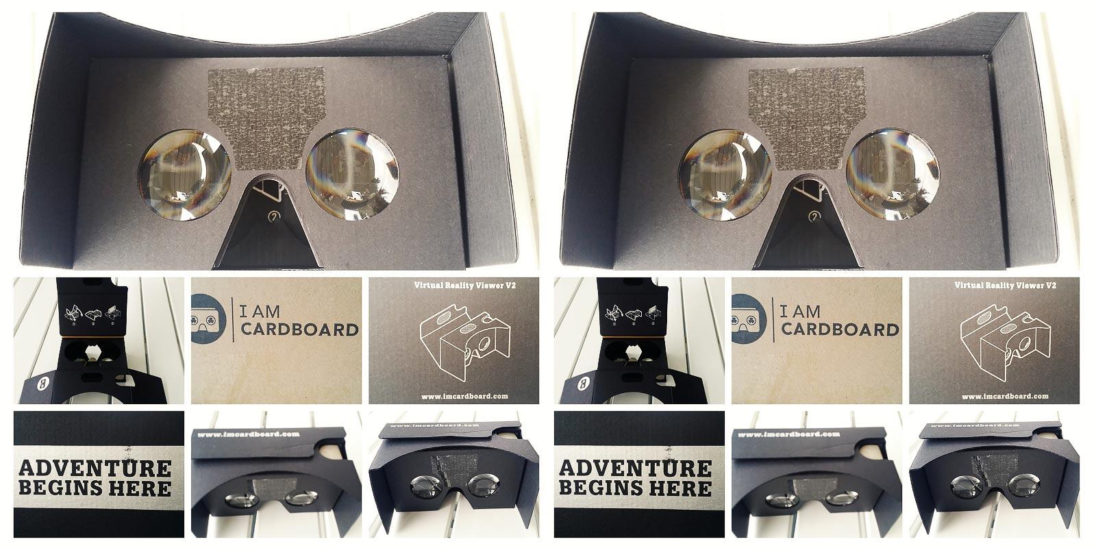 Google Cardboard ja 360-näkymät