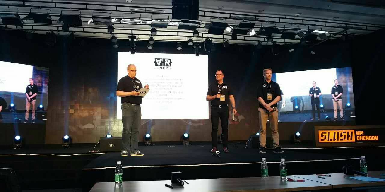 FinEduVr report from SlushUp! Chengdu
